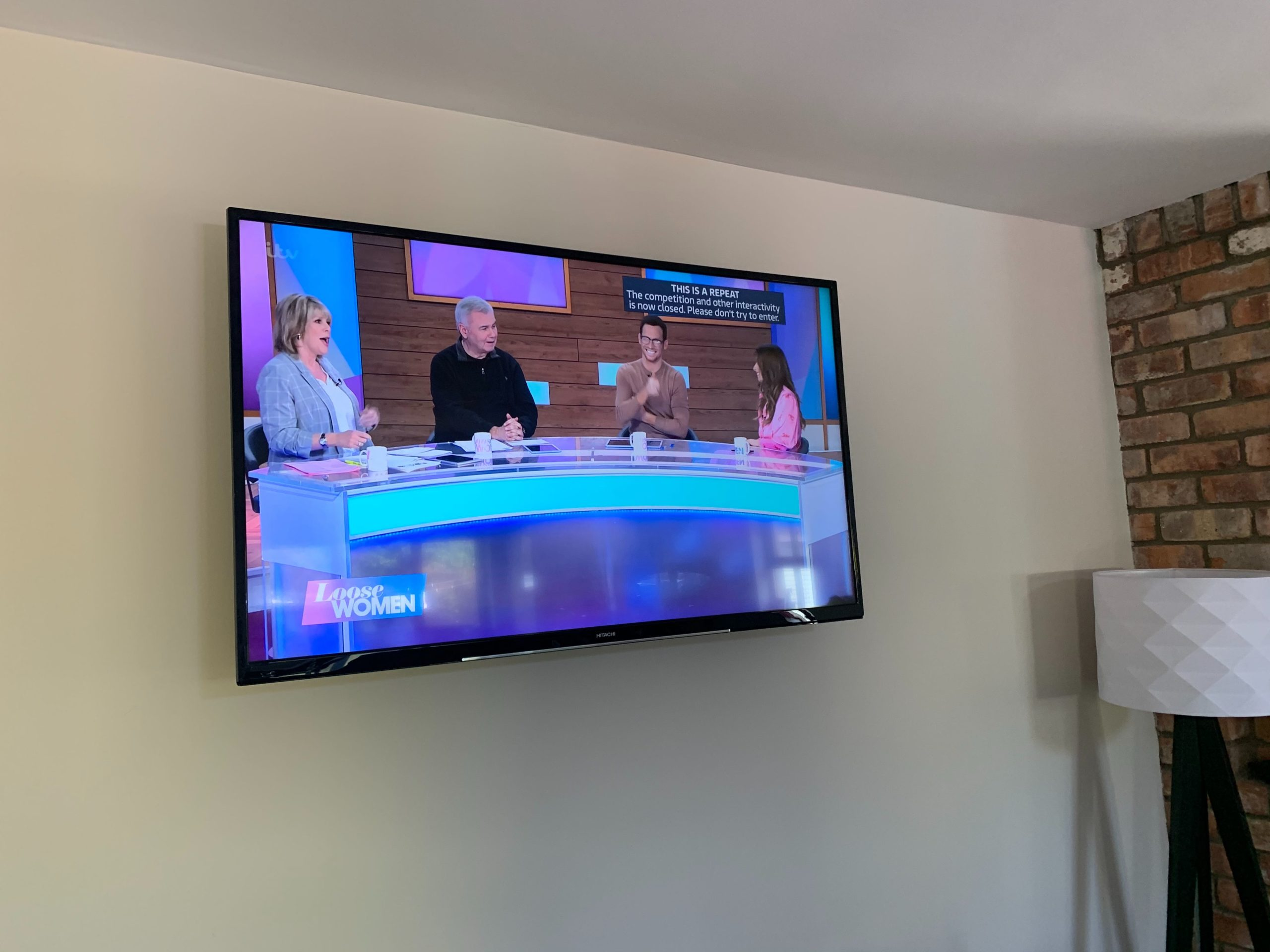 watching loose women is part of the new normal
